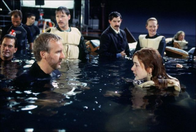 """Behind-the-scenes of Making of """"Titanic"""" ~ vintage everyday"""