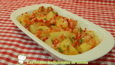 Patatas a la vinagreta