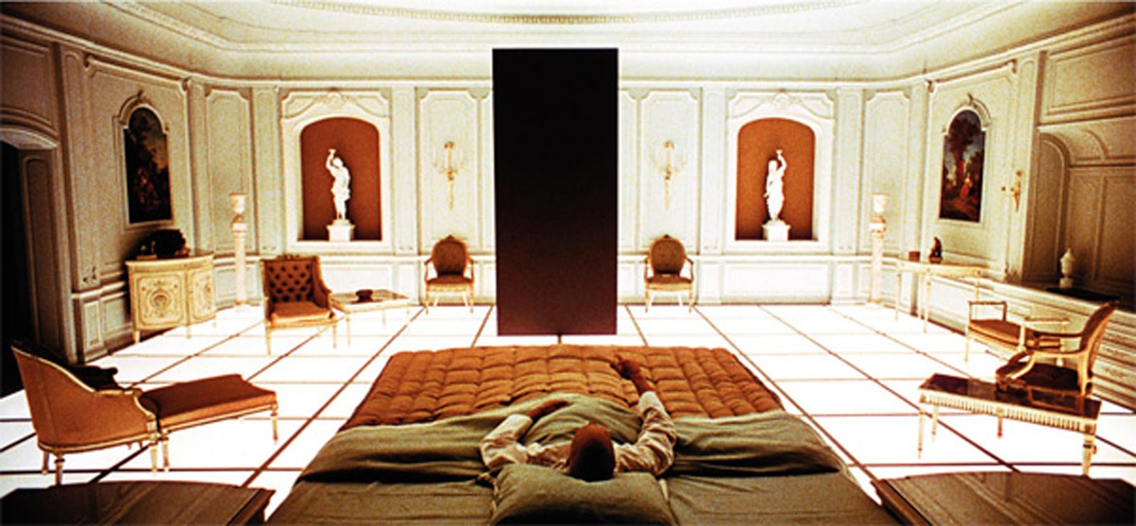 a review of stanley kubricks film 2001 a space odyssey During the making of stanley kubrick's 2001: a space odyssey, the film's  narrative trajectory pointed inexorably toward a big ending, even a.