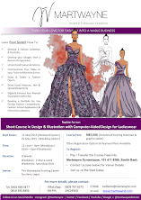 Design & Illustration with Computer-Aided Design for Ladieswear.  Start Date: 21st & 25th May, 2016