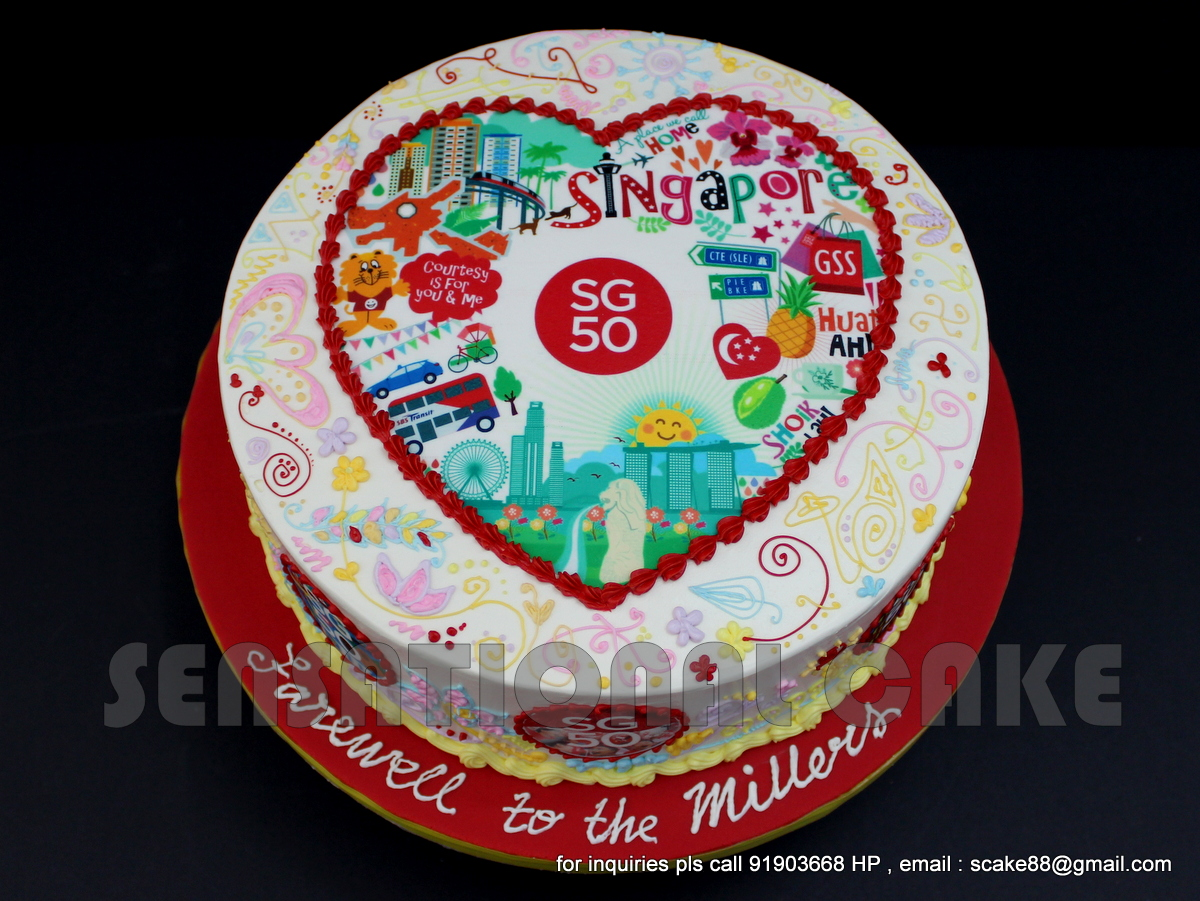 Cake Promotion Singapore Day 2015 Cake Singapore