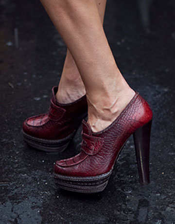 Prada High Heel Loafers