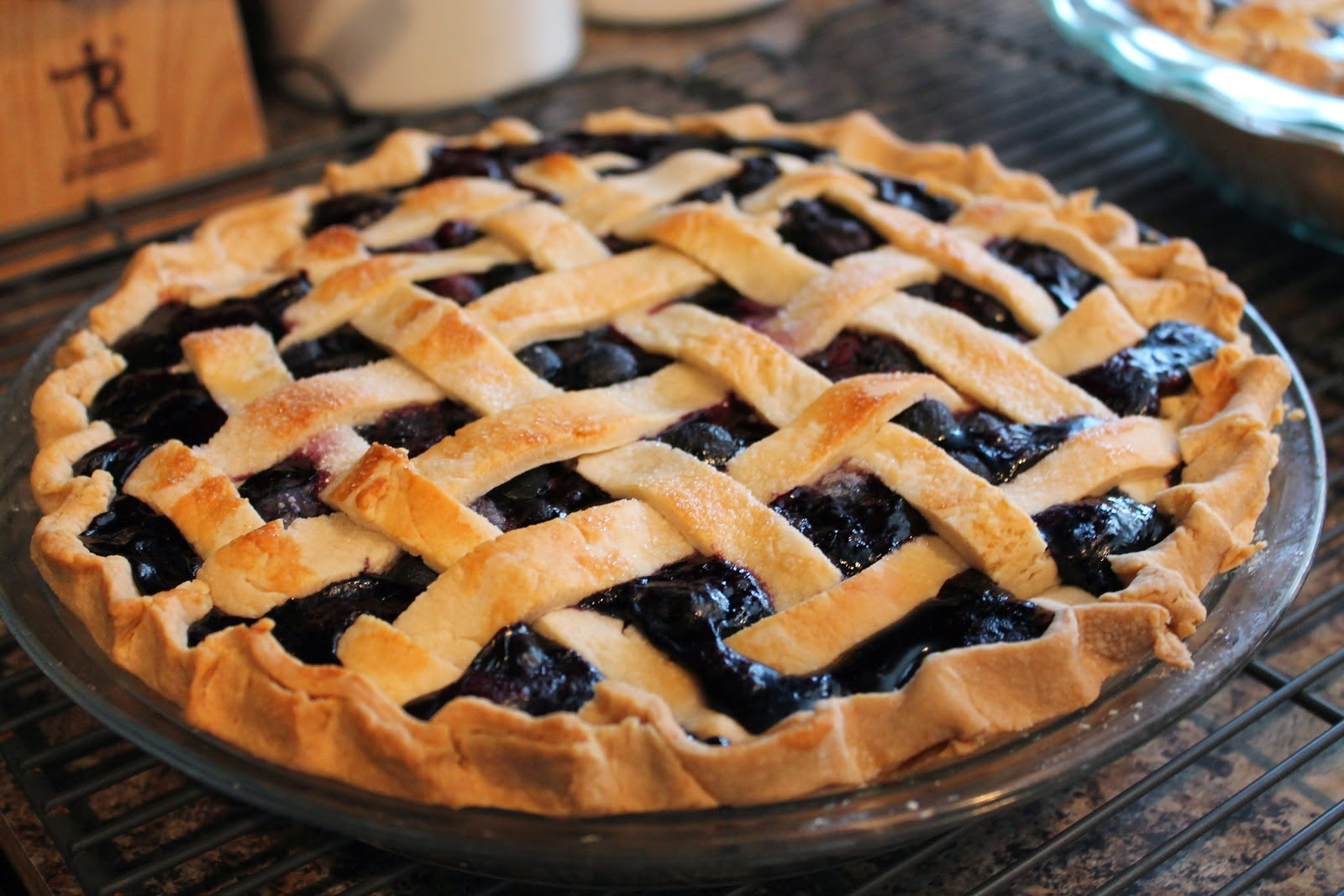 Пирог с черникой рецепт и