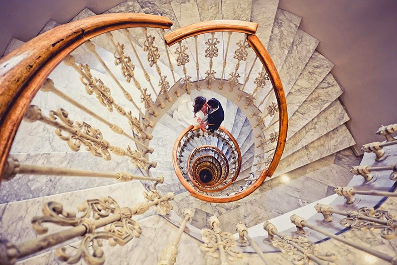 "12. ""Marta y Kiko"" – Javier Sanchez - 15 Mesmerizing Examples of Spiral Staircase Photography"