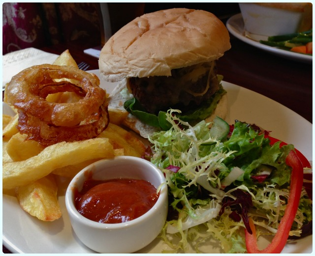 The Brewhouse, Bolton - burger