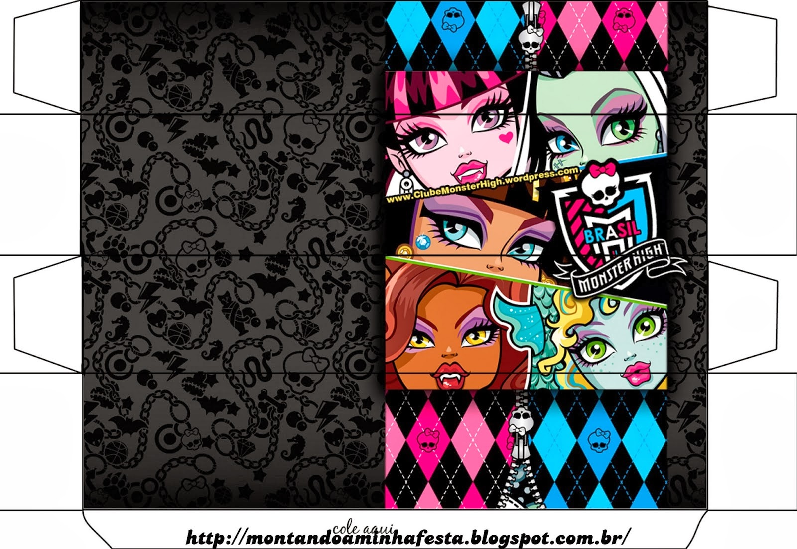 Monster High Birthday Party Invitations for best invitations design