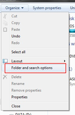 how to find hidden files on hard dsk