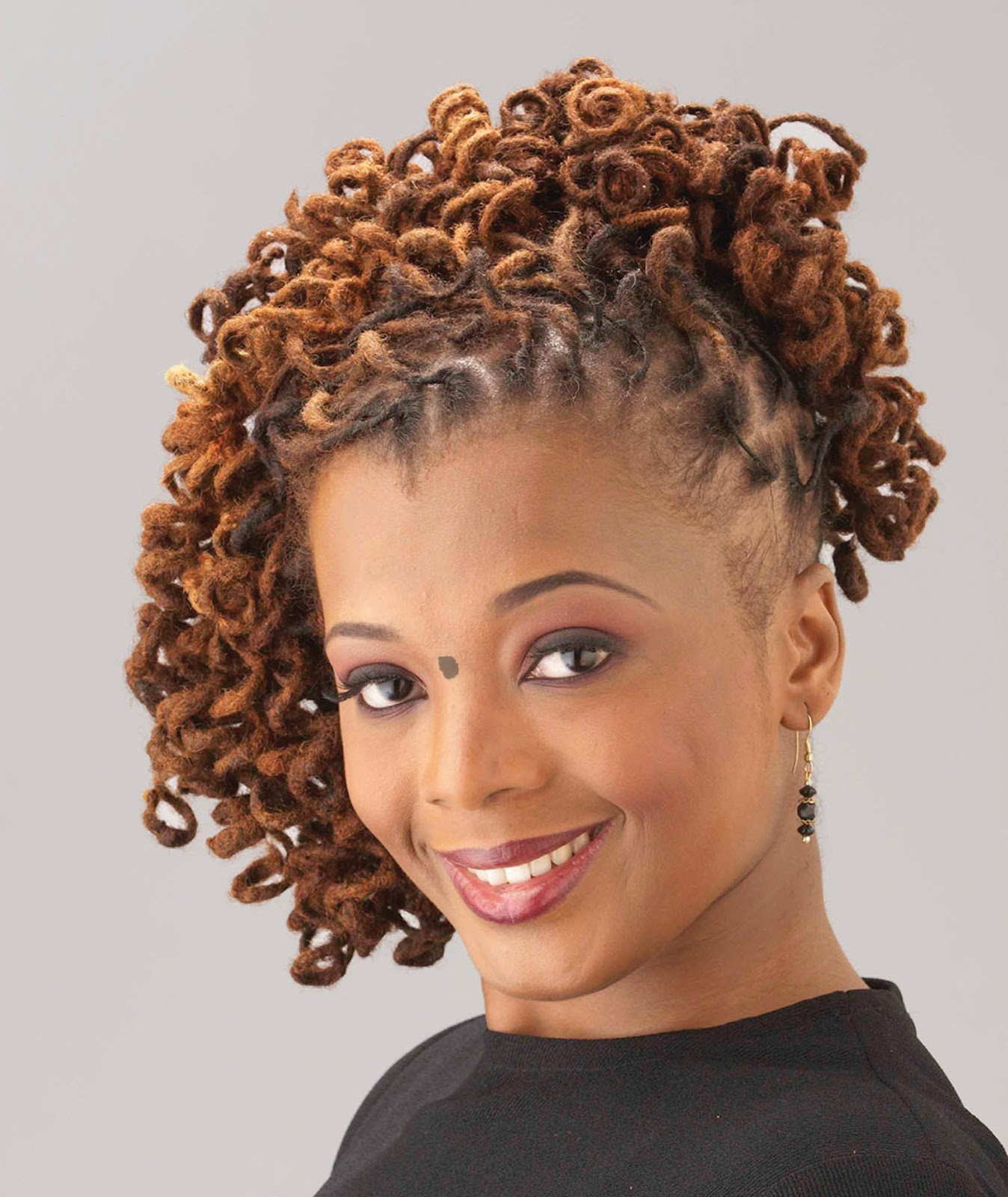Hairstyle dreadlocks photos - Curly Locs Dreadlock Hairstyles