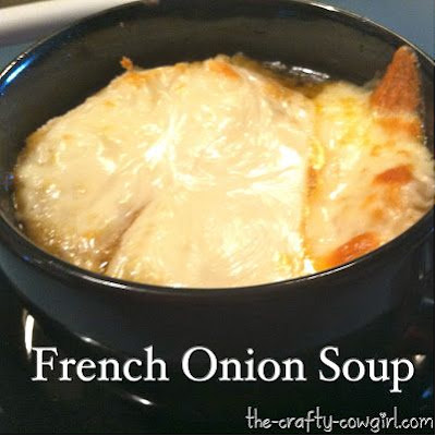 French Onion Soup (Crock Pot Recipe)