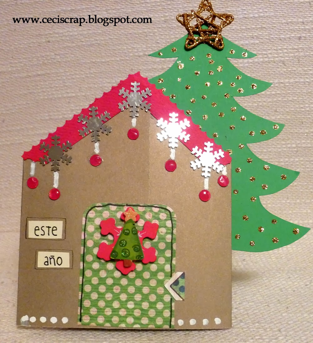 Casitas de navidad simple gif animados casitas de navidad - Casitas de navidad ...