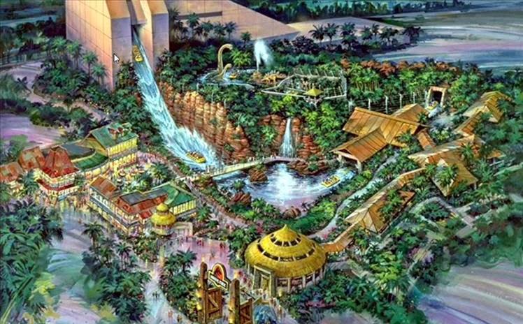 Islands Of Adventure em Orlando Jurassic Park