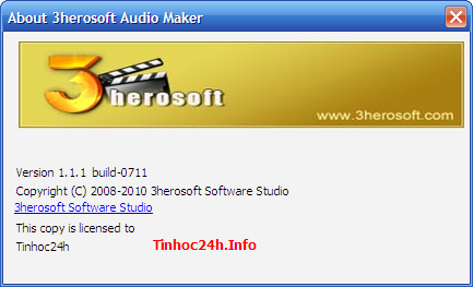 About 3Herosoft Audio Maker