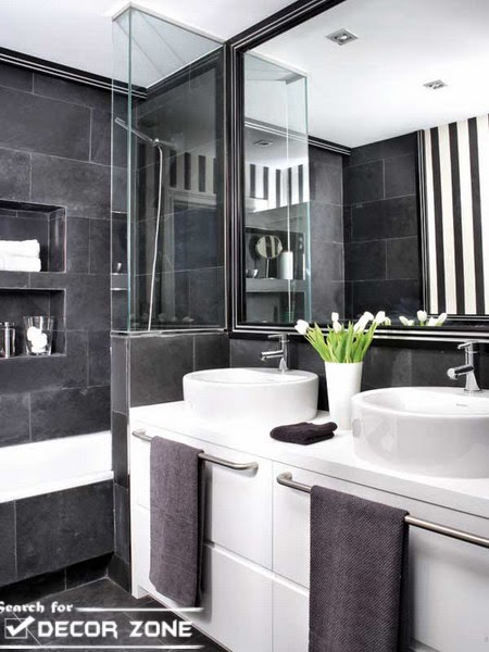 Bathroom partitions 7 original ideas and choosing tips - Bathroom glass partition designs ...