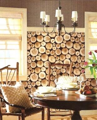 [Wood logs wallpaper]