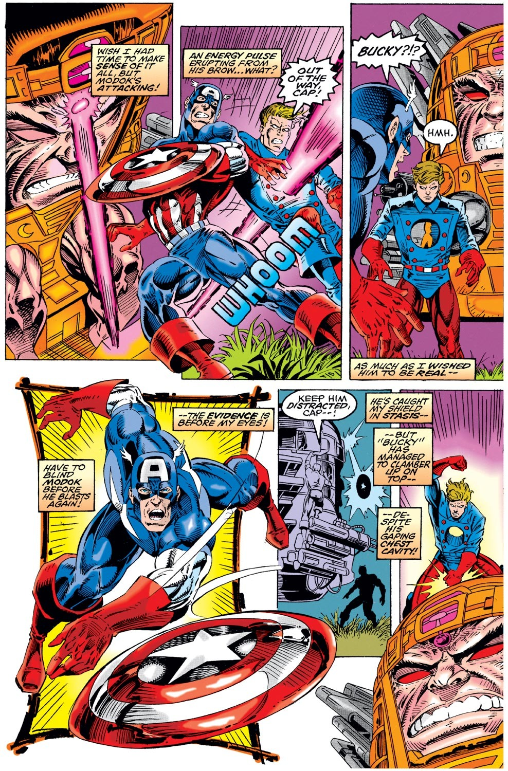Captain America (1968) Issue #441 #394 - English 3