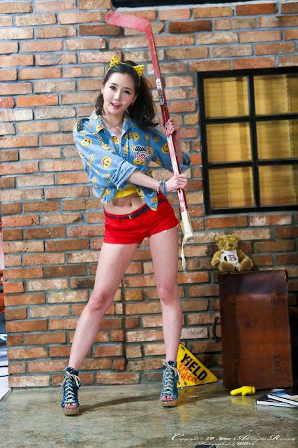 5 Han Ga Eun - very cute asian girl - girlcute4u.blogspot.com