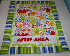 Kid size quilt- boy