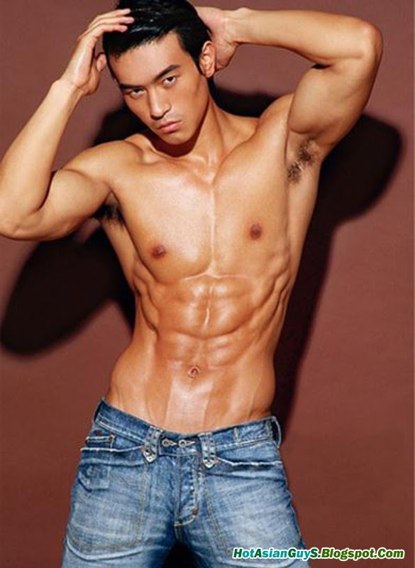 Topic think, Asian male model dimples