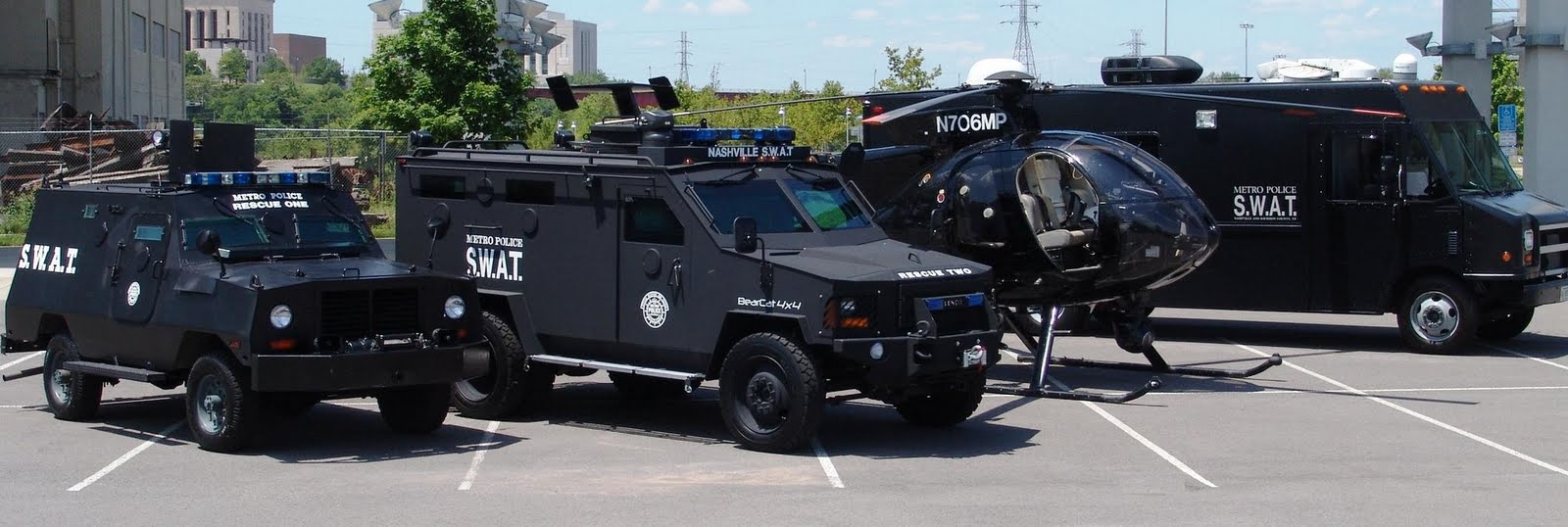 Vehicle Swat Police Car