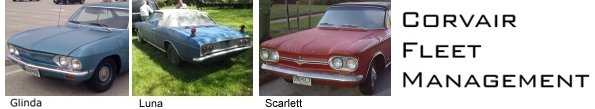 Corvair Fleet Management