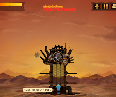 Mini Game Steampunk Tower