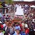 Miles de fieles celebraron a la Virgen de la Candelaria en Chanco