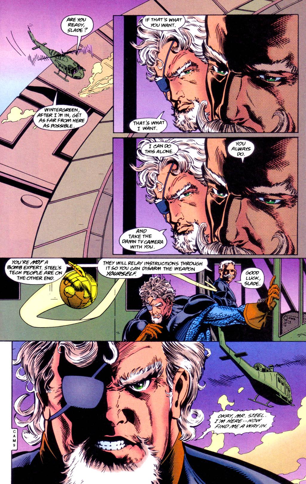 Deathstroke (1991) Issue #49 #54 - English 21