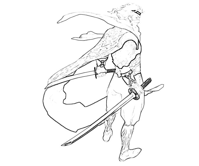 Edge Two Sword How Coloring