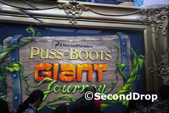 Puss in Boots' Giant Journey pre-show