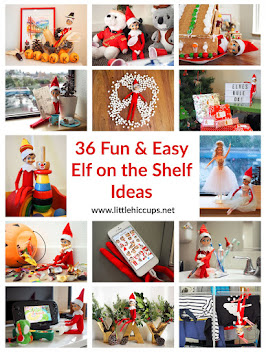36 Easy Elf on the Shelf Ideas