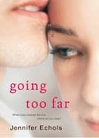 Going Too Far Jennifer Echols book cover