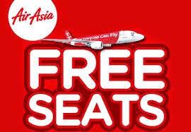 Promosi AirAsia Tempat Duduk Percuma