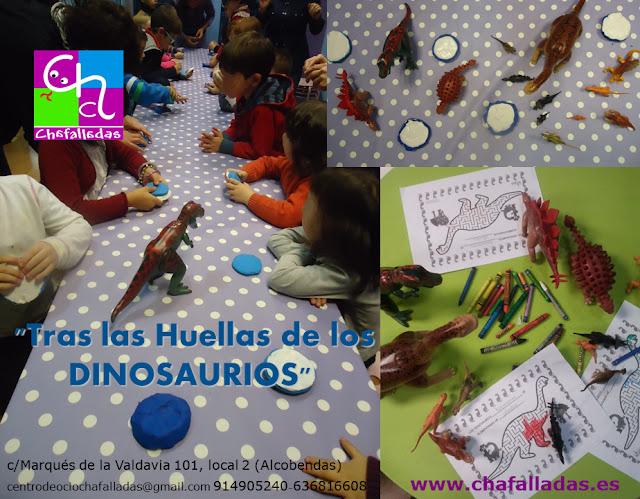taller infantil dinosaurios