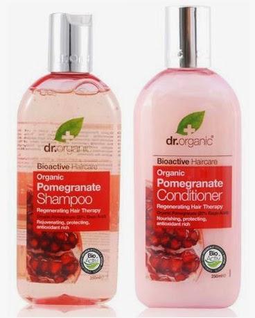 dr organic granada champu acondicionador