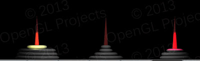 tower of hanoi opengl project