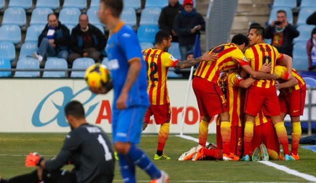Barcelona vs Getafe Copa del Rey 2014