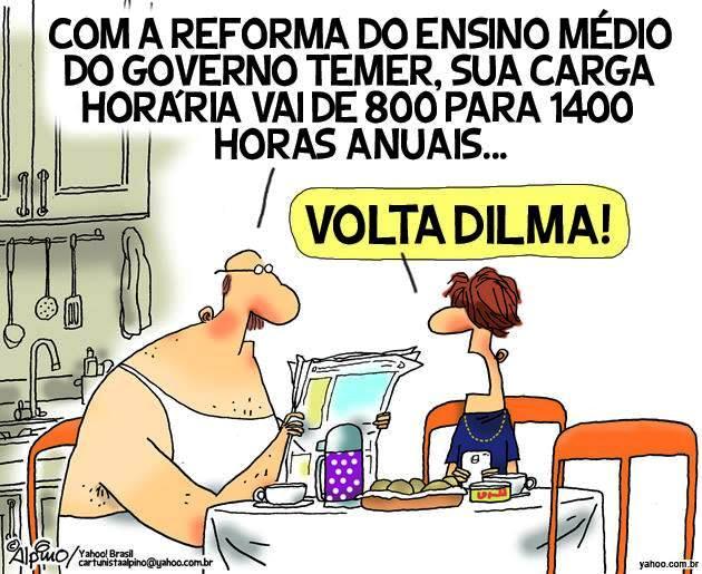 Volta, Dilma