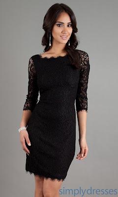 Black Dresses Ideas For Women's 5