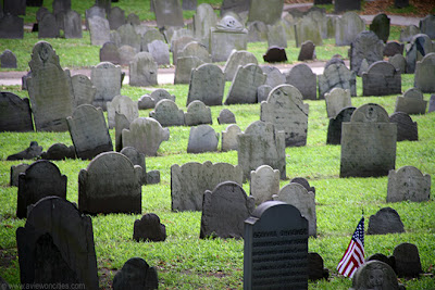 Old Granary Burying Ground, Boston [UNITED STATES]