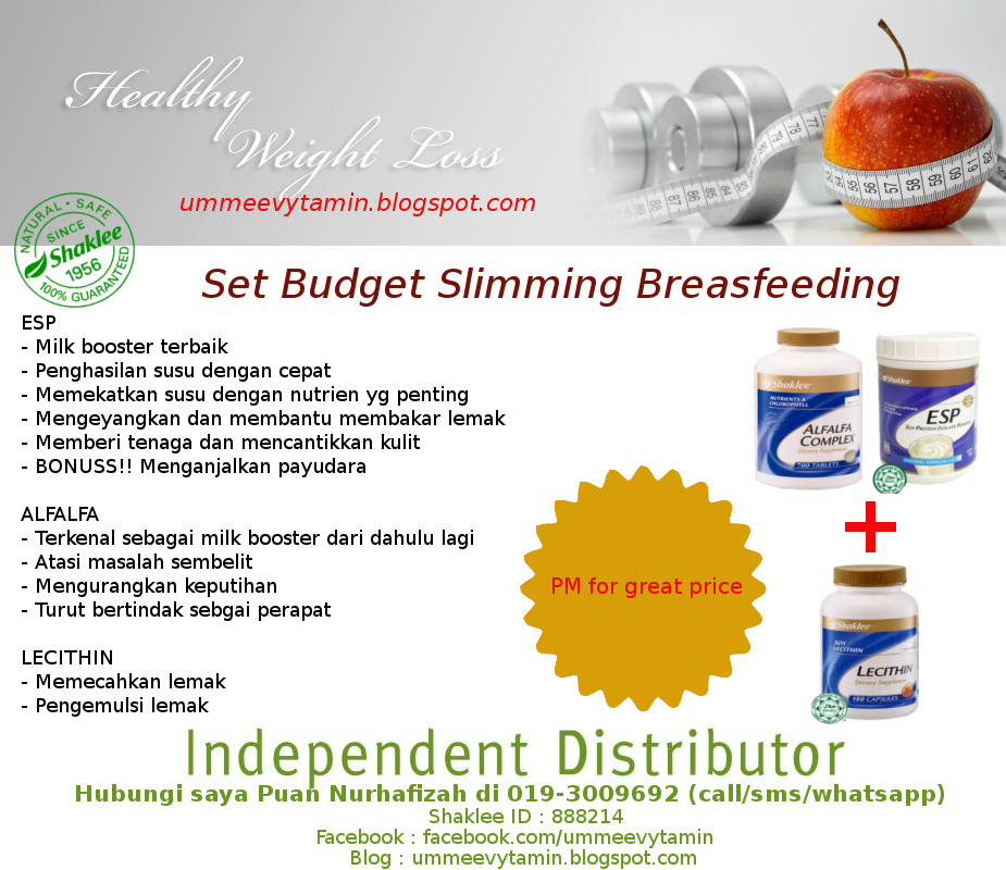 SET BUDJET SLIMMING & MENYUSU