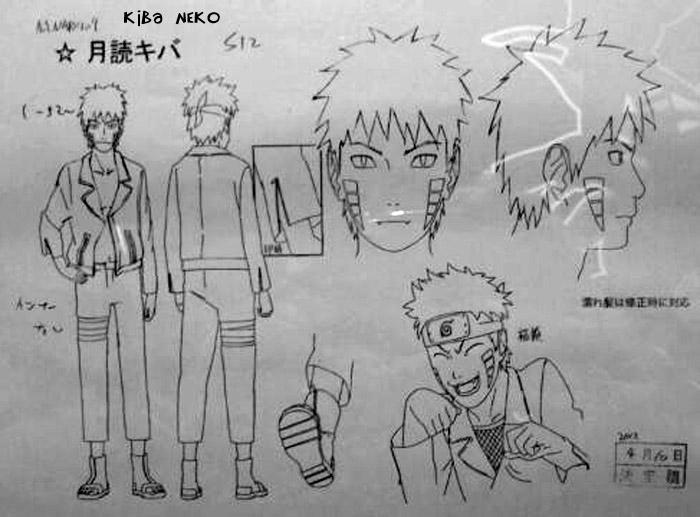 "Novidades ""Road To Ninja""   (Scans) Kiba-Drawing"