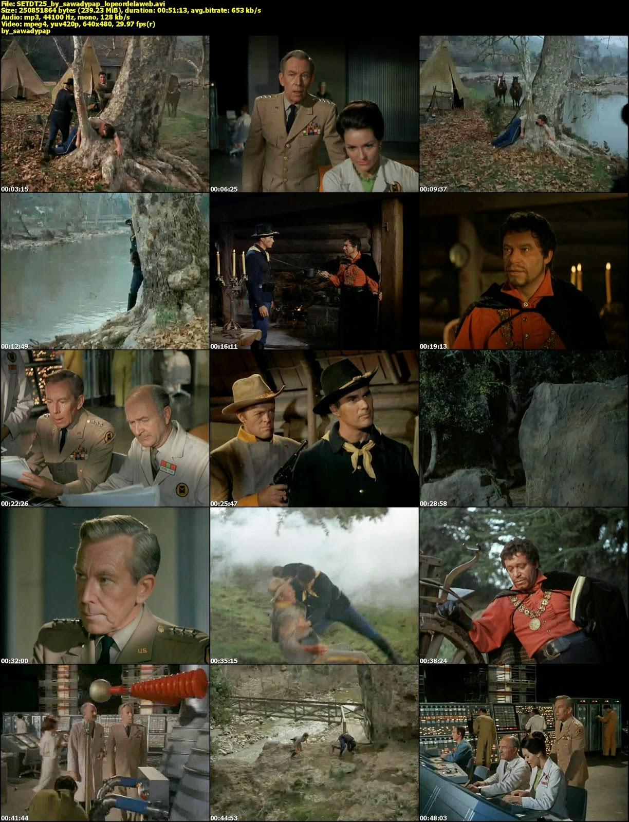 [Serie] El Tunel del Tiempo [1966] [DVDRip] [Latino]
