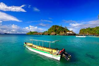 Wisata Bahari Pulau Misool