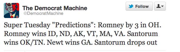 Predictions: Super Tuesday