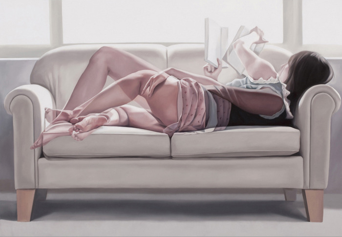 Overlapping Series Erotic Painting Horyon Lee