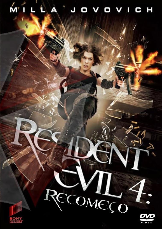 Resident Evil 4: Recomeço – Legendado (2010)