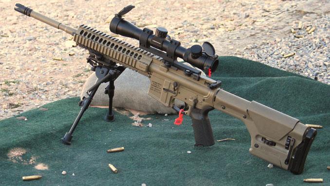 Zxc: Top Ten Sniper Rifle M110 Sniper Rifle Suppressed