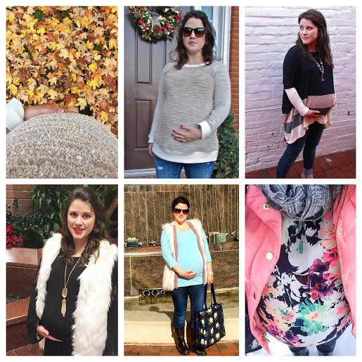 3rd Trimester Bump Collage