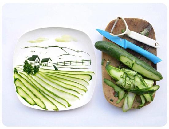 Instagram food art by Hong Yi