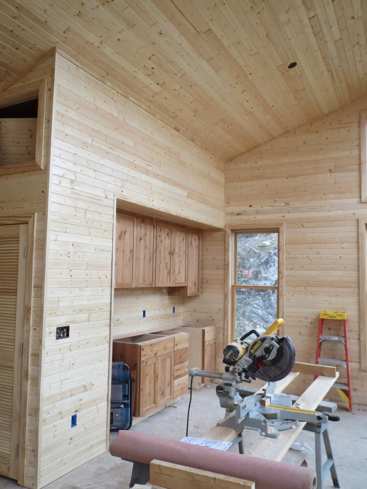 Pine, paneling, custom, cabin, huisman, construction, ely, mn, norther, minnesota